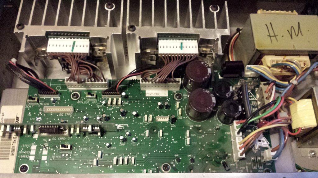 02 Reparatie 100V Versterker - 01
